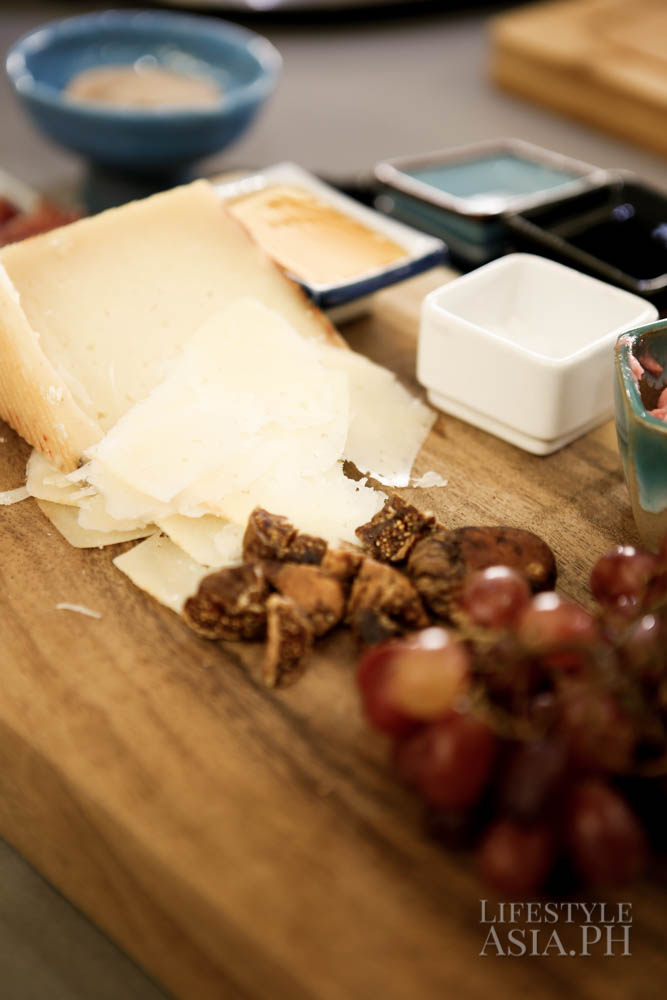 Cheese platter from Vask