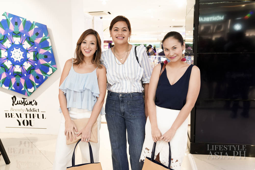 Nicole Hernandez, Bianca Santiago, and Patty Laurel