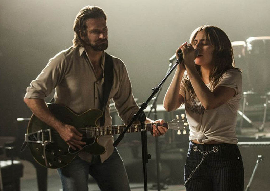 Bradley Cooper and Lady Gaga in the upcoming A Star is Born remake