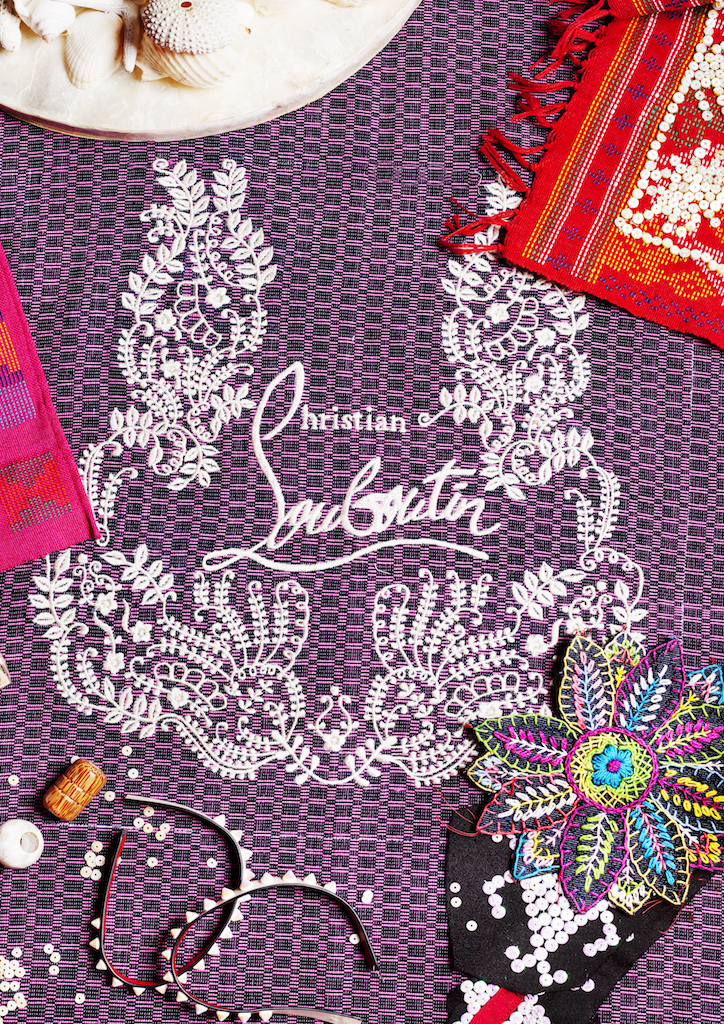 The new project with Christian Louboutin is a showcase of fine FIlipino craftmanship