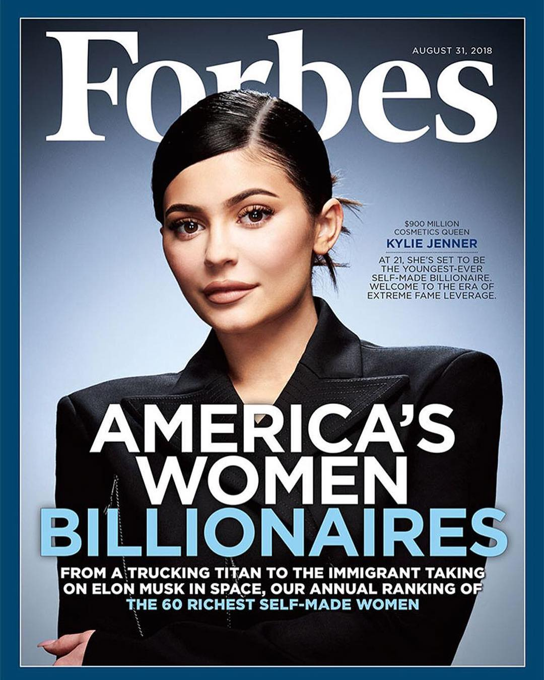 Kylie Jenner for Forbes Magazine