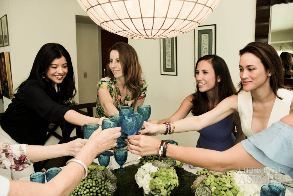 Ladies who lunch toast to good company and friendship