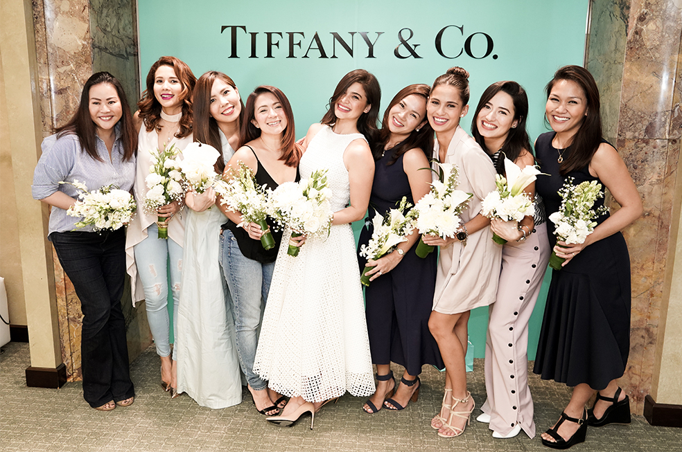 this is how a bridal shower hosted by tiffany co looks like