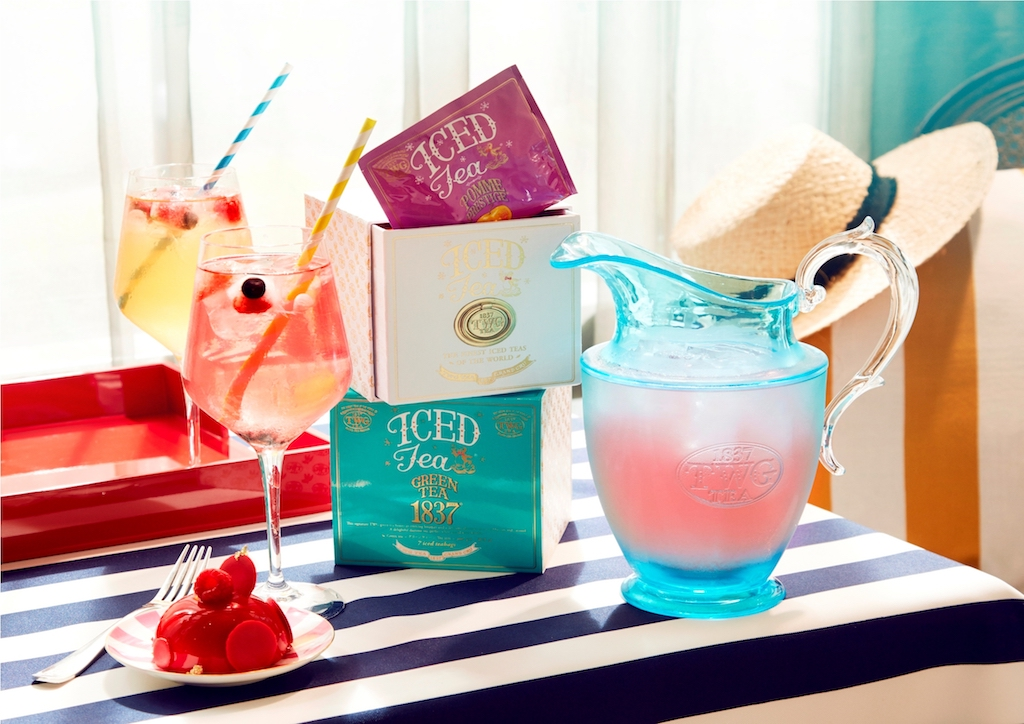 The new TWG Tea Iced Teabag collection is inspired by this season's fashion trends