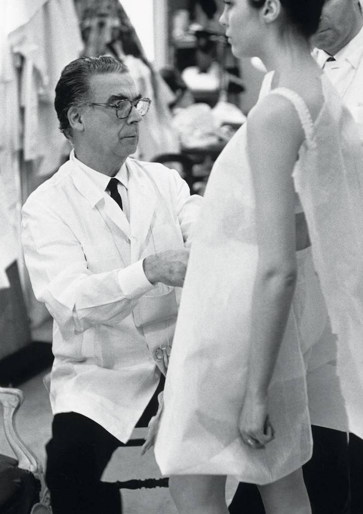 Balenciaga fitting one of his mosnters