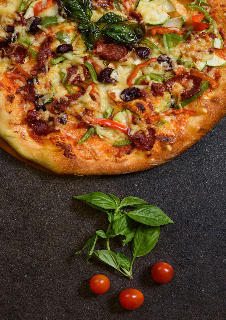 Wednesdays are Make Your Own Pizza day at Cucina