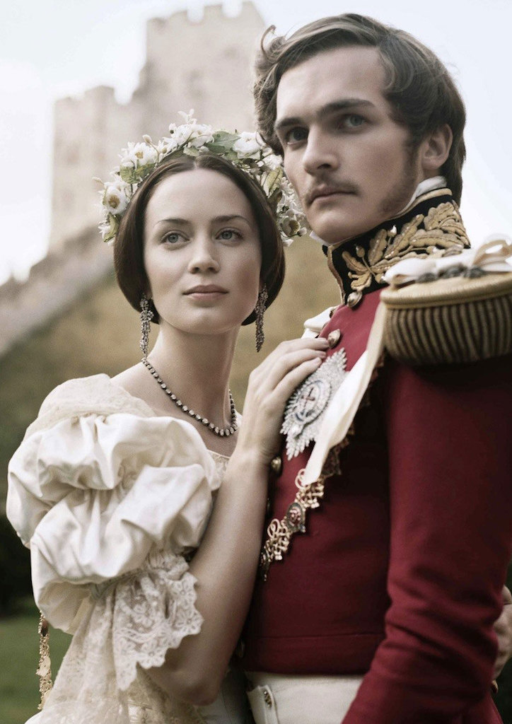 Emily Blunt as Queen Victoria and Rupert Friend as Prince Albert in The Young Victoria (2009)