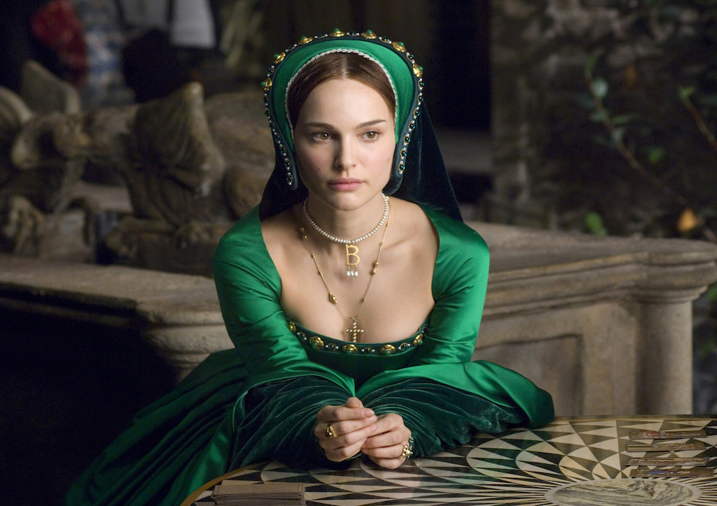 Natalie Portman as Ann Boleyn in The Other Boleyn Girl (2008)