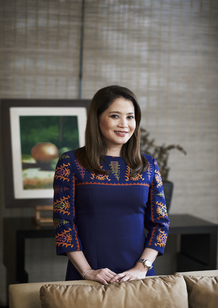 Berna Romulo Puyat, Secretary of Tourism (Photograph courtesy of Hub Pacheco)