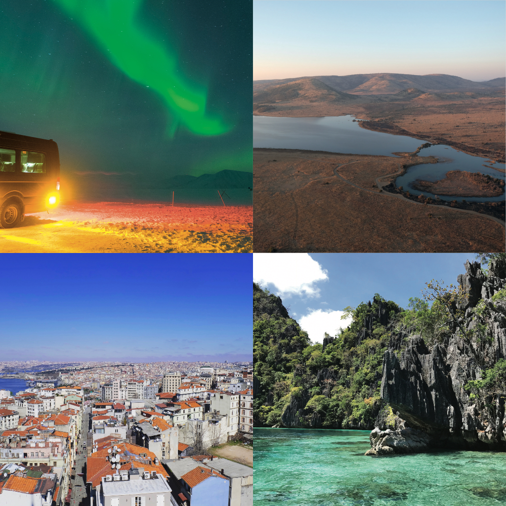 Travel with us to majestic destintations such as Iceland, South Africa, Turkey and Palawan