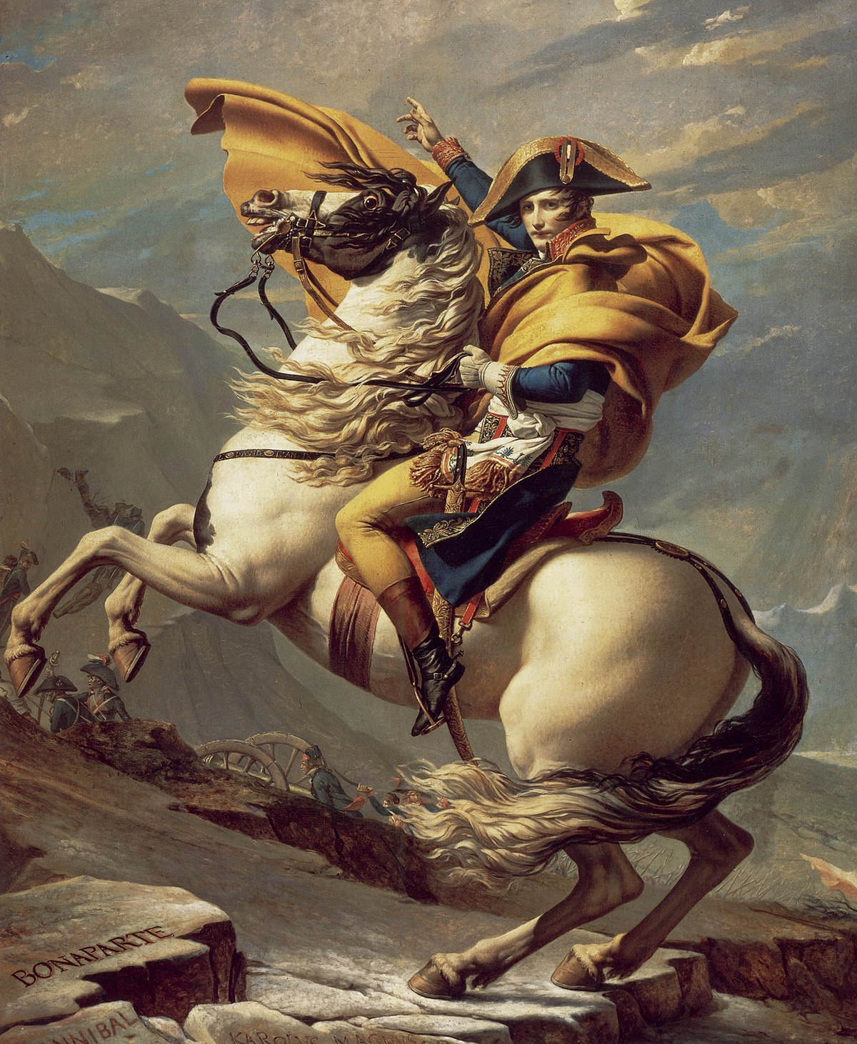 Jacques-Louis David, Napleon Bonaparte